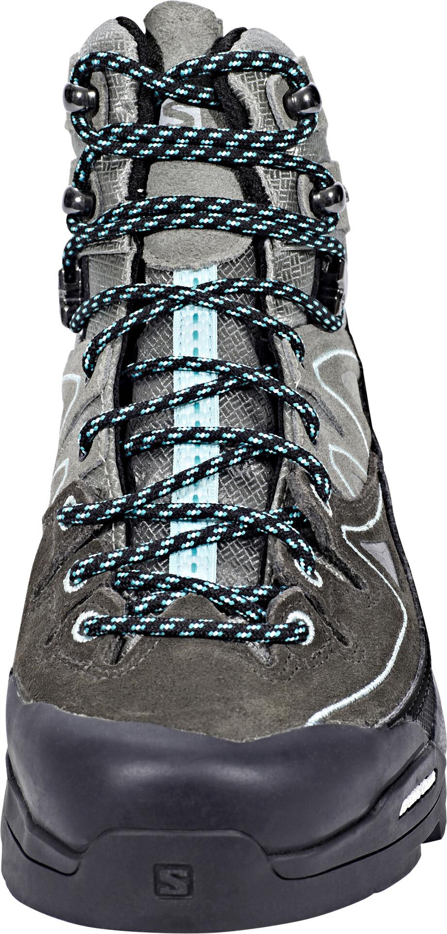 Salomon X Alp LTR GTX Chaussures Femme gris sur CAMPZ !